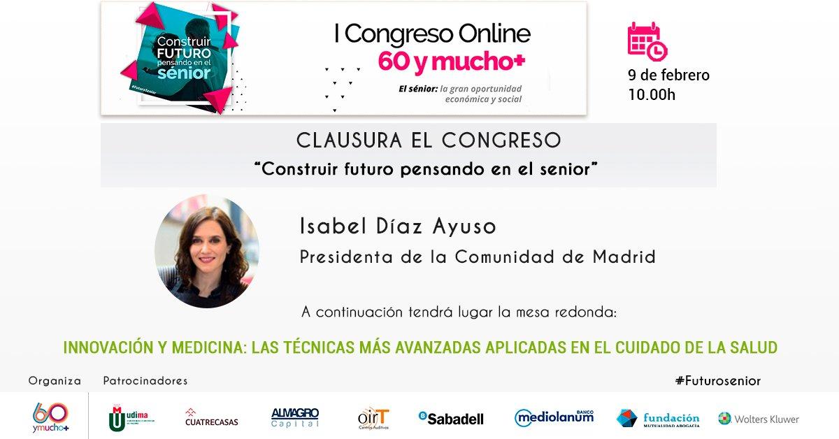 """Clausura Congreso 60ymucho+ """"Construir futuro pensando en el sénior"""""""
